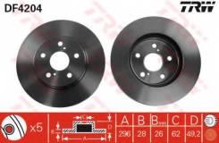 Диск тормозной передний TOYOTA CAMRY (V30) 2.4-3.0, PREVIA (_R3_) 2.4 DF4204