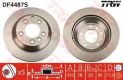 Диск тормозной задний AUDI Q7 (4L), VW TOUAREG (7L_, 7P5) DF4487S