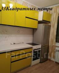 1-комнатная, улица Луговая 78. Баляева, агентство, 35 кв.м.