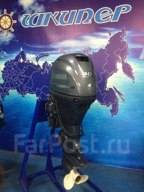 Yamaha. 40,00л.с., 4-тактный, бензиновый, нога L (508 мм), Год: 2013 год