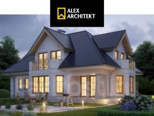 R 110 z Проект комфортного дома. 200-300 кв. м., 2 этажа, 4 комнаты, бетон