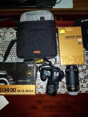 Nikon D3400 Kit. 20 и более Мп