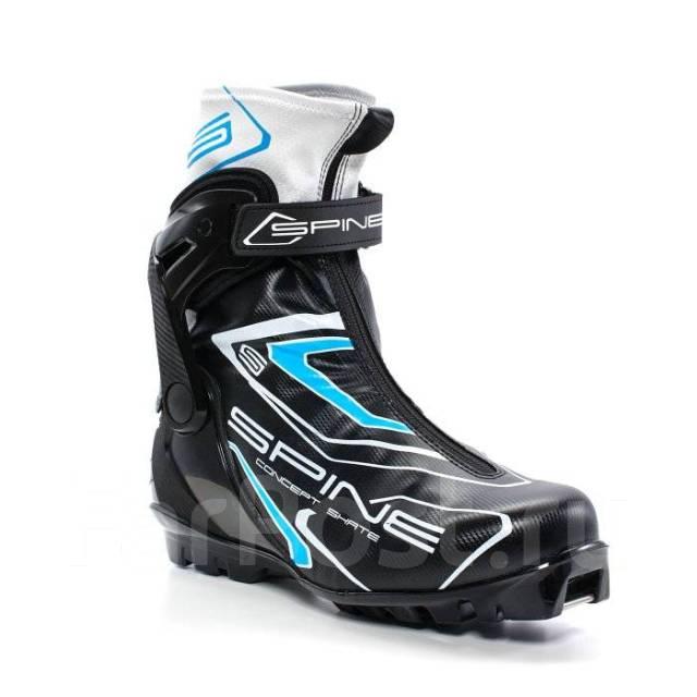 263db92c Лыжные ботинки Spine NNN Concept Skate (296/1) (черно/синий ...
