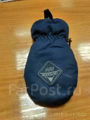 Утеряна детская перчатка (крага) цвет т. синий размер 6