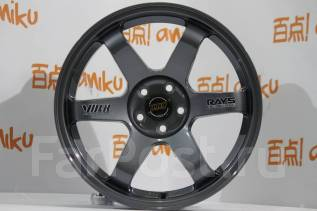 RAYS VOLK RACING TE37. 8.0x17, 5x114.30, ET20, ЦО 73,1мм.
