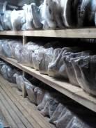 Бампер кия рио kia rio 11 г задний седан серого цвета