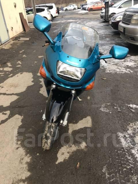 Kawasaki ZZR 400 2. 400 куб. см., исправен, птс, без пробега