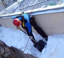 Уборка снега чистка кровли от снега