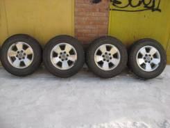 """Диски оригинальныеToyota Prado120,4Runner, Surf+шины 265/65/17. 7.5x17"""" 6x139.70 ET30 ЦО 106,2мм."""
