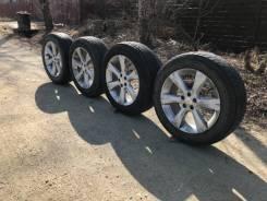 Комплект колес на 17 ( литье+резина). Отправлю в регионы РФ. 7.0x17 5x100.00