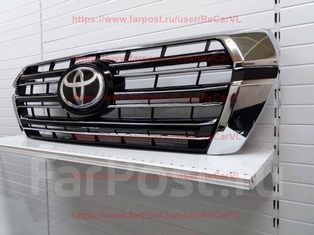 Решетка бамперная. Toyota Land Cruiser, GRJ76K, GRJ79K, J200, URJ202, URJ202W, VDJ200 Двигатели: 1GRFE, 1URFE, 1VDFTV, 3URFE