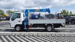 Isuzu Elf. Продам бортовой грузовик с манипулятором , Полная Пошлина, 4 300 куб. см., 3 000 кг.
