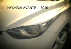 Накладка на фару. Hyundai Avante