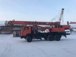 Ульяновец МКТ-25.2. Продается автокран МКТ-25.2 на базе КамАЗ 53215, 10 850 куб. см., 25 000 кг., 22 м.