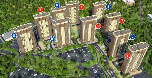 2-комнатная, улица Нейбута 17 кор. 3. 64, 71 микрорайоны, застройщик, 50кв.м.