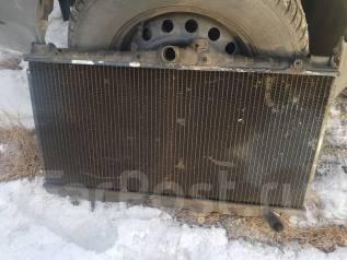 Радиатор охлаждения двигателя. Toyota Carina, CT170, CT170G, CT176 Двигатели: 2C, 2CL, 2CT