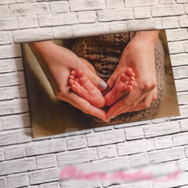 Печать на холсте / подарки / фотохолст / картины / фото