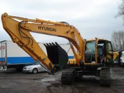 Hyundai R260LC-9S. Экскаватор Hyundai R220, 5 900 куб. см., 1,10куб. м.