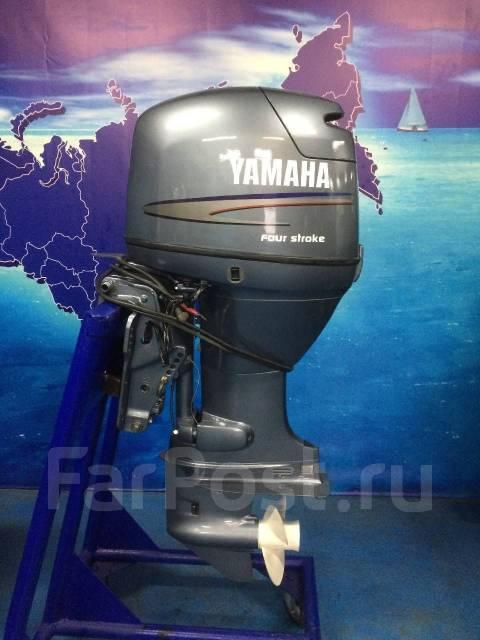 Yamaha. 50,00л.с., 4-тактный, бензиновый, нога L (508 мм), Год: 2003 год