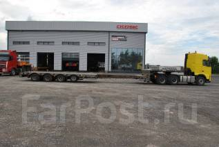 Stokota. Полуприцеп-платформа stokota S4U. N2-02, 53 500 кг.