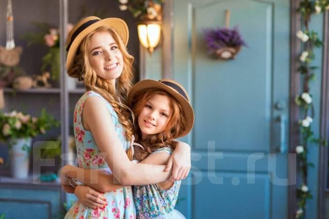 Портретная фотосессия для девушек к 8 марта