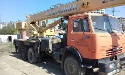 Галичанин. Автокран 25 т., 10 850 куб. см., 25 000 кг., 22 м.