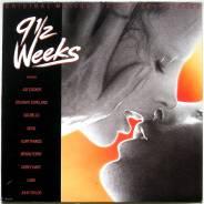 """Винил. """" 9 1/2 недель"""" Original Motion Picture Soundtrack 1986 Europe"""