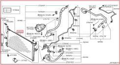 Радиатор кондиционера. Infiniti FX45, S50 Infiniti FX35 Двигатель VK45DE. Под заказ