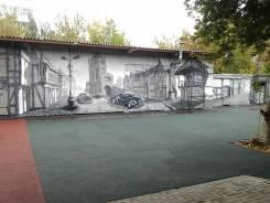 Художественная роспись стен. 3д граффити оформление на заказ