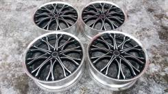 M'z SPEED JJ Chrome. 8.0x19, 5x114.30, ET48, ЦО 72,6 мм.
