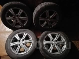 Продам колёса(литьё) TOYO TEO plus на 175х65х14—5х100. x14 5x100.00