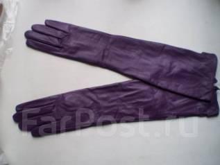 Распродажа - Перчатки женские кожаные до локтя и выше от 2500 рублей. Акция длится до, 8 марта