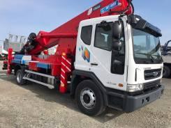 Daewoo Novus. Вышка Horyong SKY450SF на шасси 7 тонн 2017год., 5 890 куб. см., 45 м.