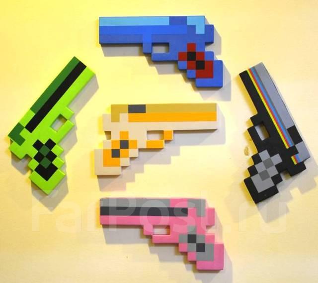 Детская игрушка в стиле Майнкрафт/Minecraft