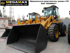 Megamax. GL 300F, (США), кондиционер, джойстик, ковш 2.2 м3, 125 л. с., 2 800кг., Дизельный, 2,20куб. м.