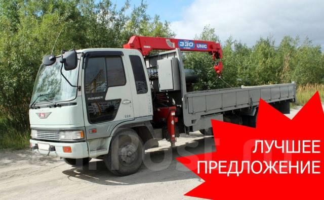Грузоперевозки грузовик с краном Эвакуатор