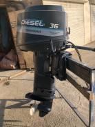 Yanmar. 36,00л.с., 4-тактный, дизельный, нога X (635 мм), Год: 2002 год