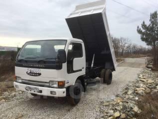 Nissan. Ниссан Дизель Самосвал, 4 600 куб. см., 3 000 кг.