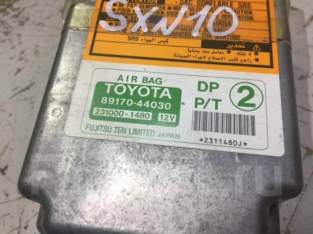 Блок управления airbag. Toyota Nadia, ACN10, ACN10H, ACN15, ACN15H, SXN10, SXN10H, SXN15, SXN15H Toyota Ipsum, CXM10, CXM10G, SXM10, SXM10G, SXM15, SX...