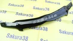 Дефлектор капота. Toyota Corolla, 15, ZZE124, ZZE132, ZZE121L, ZZE120, ZZE121, NZE121, CE121, CDE120, ZZE134, ZZE120L, NDE120, NZE124, ZZE123L, NZE120...