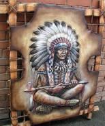 Изделия из металла, дерева, натуральной кожи, ручной работы. Под заказ