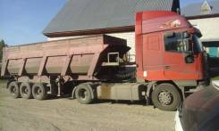 Iveco Eurostar. Продаётся тягач ивеко +п/п самосвальный трейлор, 12 000 куб. см., 20 000 кг.
