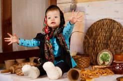 """Детские фотосессии, фотопроект """"Масленица"""" в фотостудии """"Points"""""""