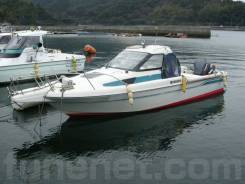 Yamaha FC-23. Год: 1993 год, длина 6,34м., двигатель подвесной, 115,00л.с., бензин. Под заказ