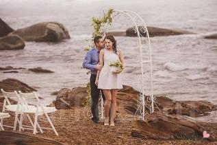 Свадебная регистрация лесная и морская зона . Фуршет. Фото-зоны
