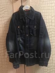 Рубашки джинсовые. Рост: 128-134, 134-140 см