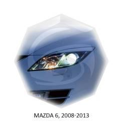 Накладка на фару. Mazda Mazda6, GG, GH, GJ, GY Двигатели: LF18, MZIAJV6, MZRL3C1, MZRL5VE, MZRL813, MZRLF17, MZRLFF7, MZRCD, MZRCDR2AA, MZRCDR2BF, MZR...