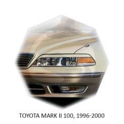 Накладка на фару. Toyota Mark II, GX100