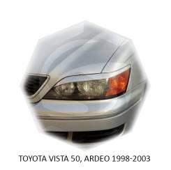 Накладка на фару. Toyota Vista, AZV50, AZV55, SV50, SV55, ZZV50 Toyota Vista Ardeo, AZV50G, AZV55G, SV50G, SV55G, ZZV50G Двигатели: 1AZFSE, 1ZZFE, 3SF...