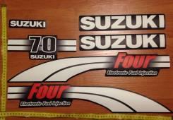 Наклейки Сузуки 70 (40-50-60) 4 такта карбюратор